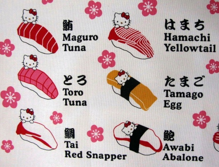 Sushi in japan pretty pretty yum yum for Sushi fish names