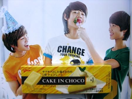 cake in choco