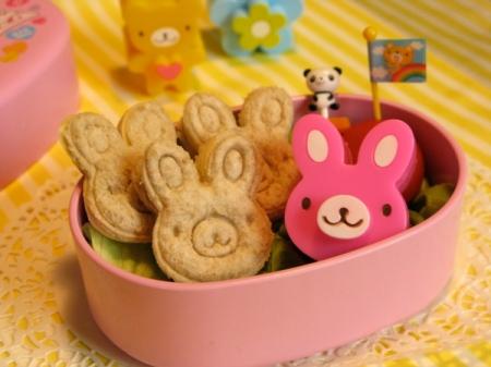 bunny sandwiches
