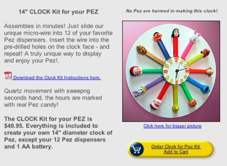 pez clock