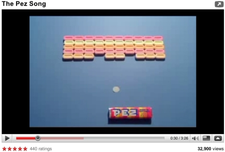 the pez song