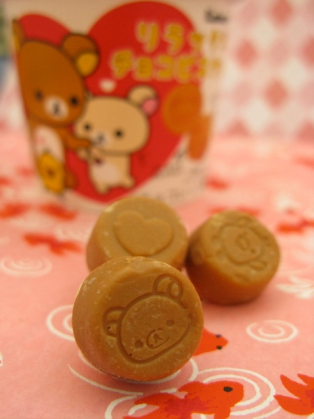 rilakkuma chocolate macro