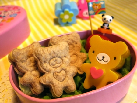 teddybear sandwiches