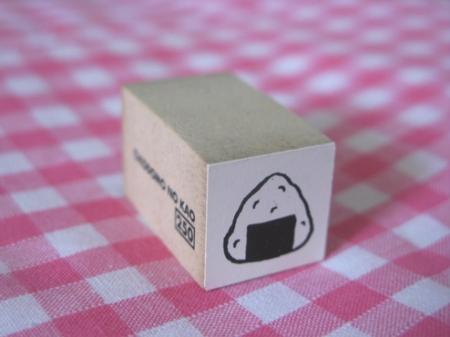 onigiri stamp